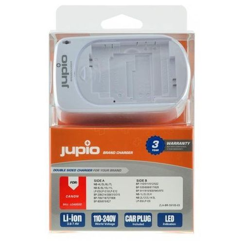 Ładowarka JUPIO LCA0020 Brand Charger Canon