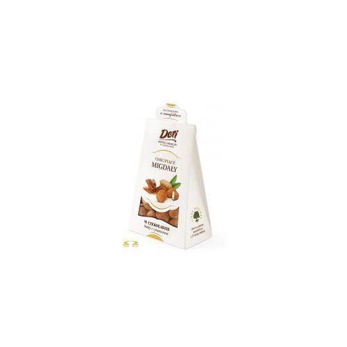 Migdały w białej czekoladzie z cynamonem 100g kartonik z kategorii Pozostałe ciasta i słodycze