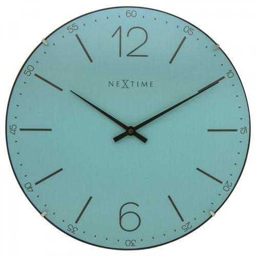 Zegar ścienny 3159 TQ Index Dome śr. 35cm Nextime, 3159TQ