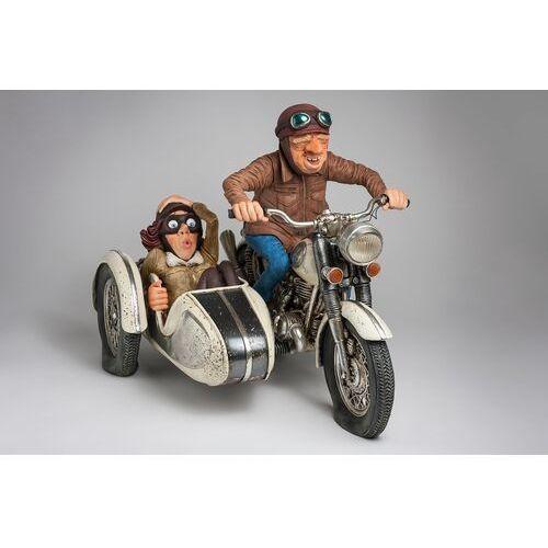 Figurka motocykl z przyczepką - guilermo forchino fo85087 marki Guillermo forchino