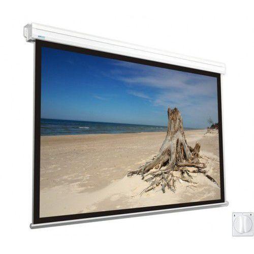 Ekran elektryczny Avers Focus II 240x240cm, 1:1, Matt White, 359