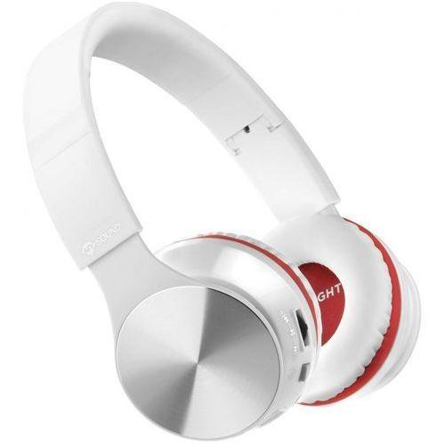 Słuchawki nauszne MELICONI MySound Speak Air Biało-czerwony