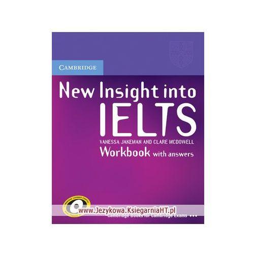 New Insight into IELTS Workbook (zeszyt ćwiczeń) with Answers (144 str.)
