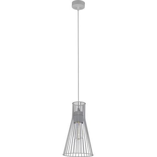 Tklighting Lampa wisząca druciana zwis oprawa tk lighting vito gray 1x60w e27 szara 1496 (5901780514969)