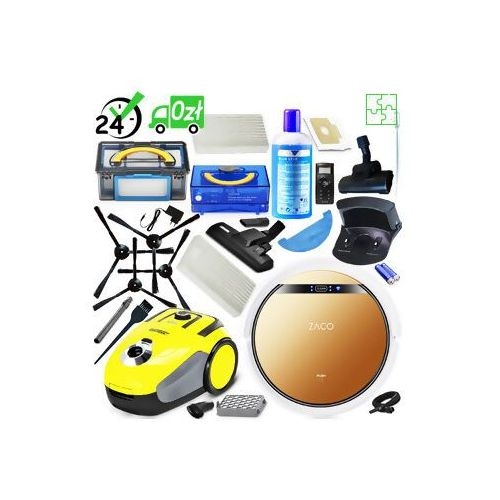 V5x Robot sprzątający, mopujący ZACO + Karcher VC 2 ✔ZAPLANUJ DOSTAWĘ ✔SKLEP SPECJALISTYCZNY ✔KARTA 0ZŁ ✔POBRANIE 0ZŁ ✔ZWROT 30DNI ✔RATY ✔GWARANCJA D2D ✔LEASING ✔WEJDŹ I KUP NAJTANIEJ (4260522140929)