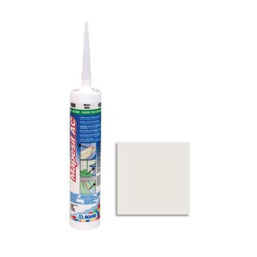 Silikon sanitarny MAPESIL AC 100 310 ml Biały MAPEI, 4810091PL