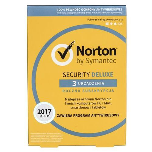 Oprogramowanie NORTON SECURITY 3.0 PL 1 USER 3 DEVICE 12 MO CARD MM, 1_556474