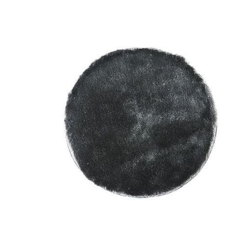 Dywan shaggy glitter srebrny – poliester – śr. 120 cm marki Vente-unique