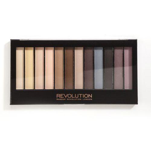 Makeup Revolution Redemption Palette Essential Mattes - paleta matowych cieni do powiek (5029066013361)