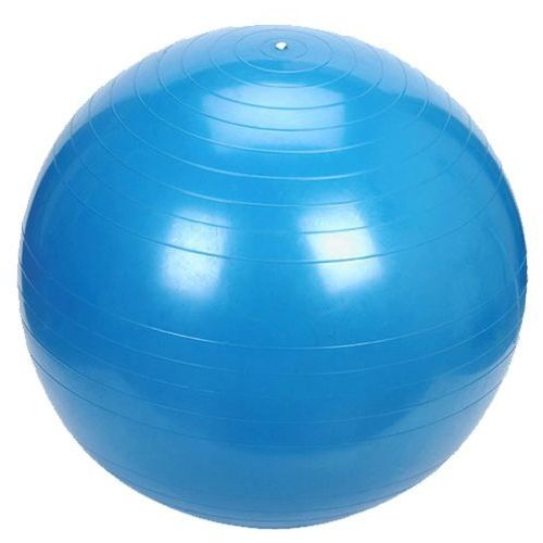 PLATINIUM Classic 55 niebieska - PIłka fitness - Niebieski
