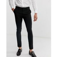 New Look super skinny smart trousers in black - Black, kolor czarny