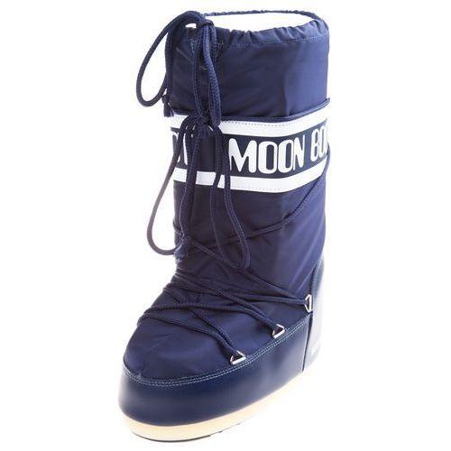 Moon boot mb nylon śniegowce niebieski 23-26