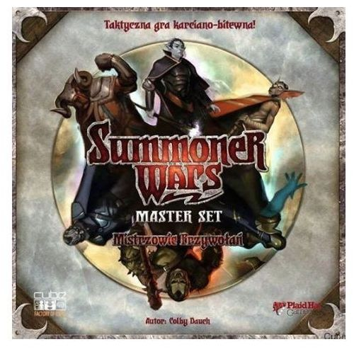 Summoner wars: master set (edycja polska) marki Cube - factory of ideas