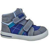 Protetika buty chłopięce za kostkę elo 20 szary/niebieski (8585003418479)