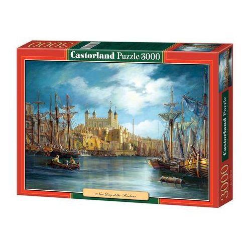 Castorland Puzzle 3000 elementów. port morski (c-300167) (5904438300167)