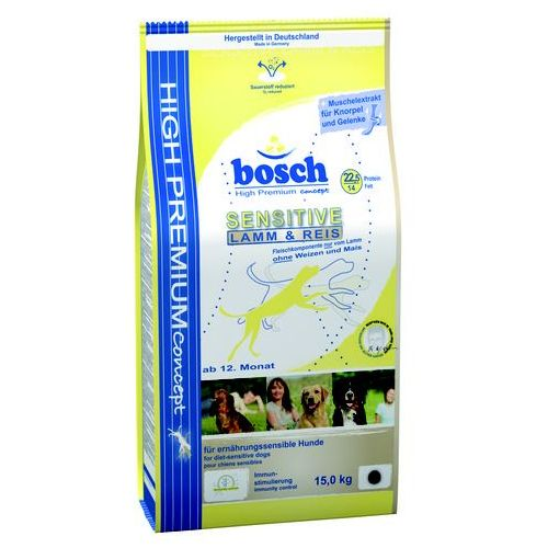 Bosch  sensitive lamb & rice 15kg (4015598000901)