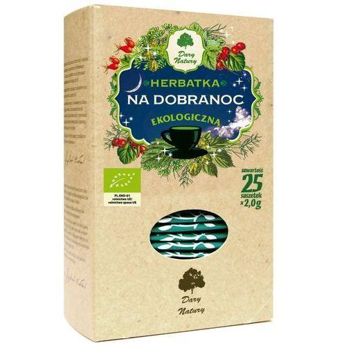 Dary natury - herbatki bio Herbatka na dobranoc bio (25 x 2 g) dary natury