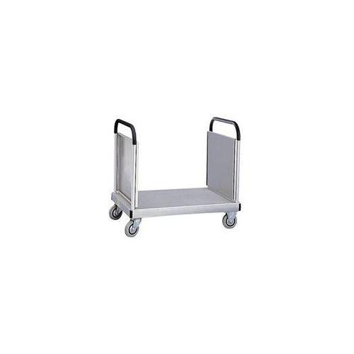 Zarges Ściana czołowa, z pałąkiem do przesuwania, wtykowym, do aluminiowego wózka platf