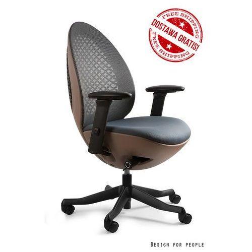 Unique Fotel ovo brązowy, kolory