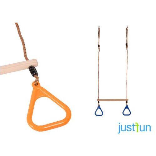 Trapez z trójkątnymi obręczami - pomarańczowy marki Just fun