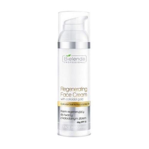 Bielenda professional regenerating face cream with gold krem regenerujący do twarzy z koloidalnym złotem - 50 ml