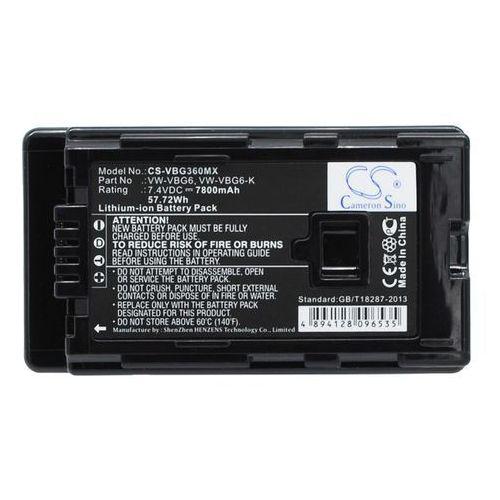 Cameron sino Panasonic ag-ac130 / vw-vbg6 7800mah 57.72wh li-ion 7.4v () (4894128096535)