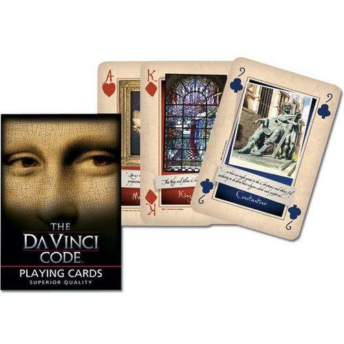 Karty do gry Piatnik 1 talia Kod Da Vinci