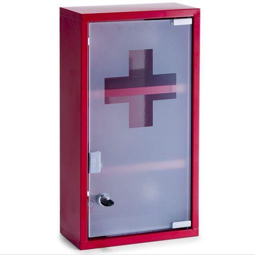Szafka medyczna, metalowa apteczka - 3 poziomy, ZELLER, B002MXI6QS