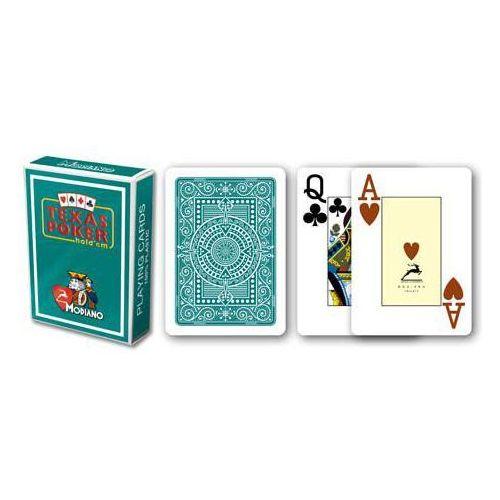 2 rogi 100% karty plastikowe - zielone marki Modiano