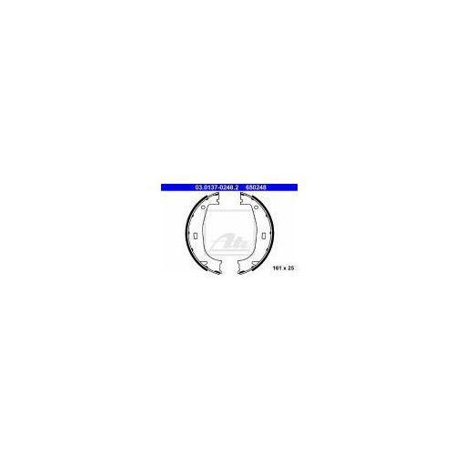 ATE Zesatw szczęk hamulcowych, hamulec postojowy - 03.0137-0248