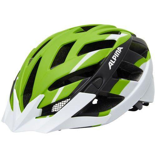 Alpina Panoma L.E. Kask rowerowy zielony/biały 56-59cm 2018 Kaski rowerowe (4003692239051)