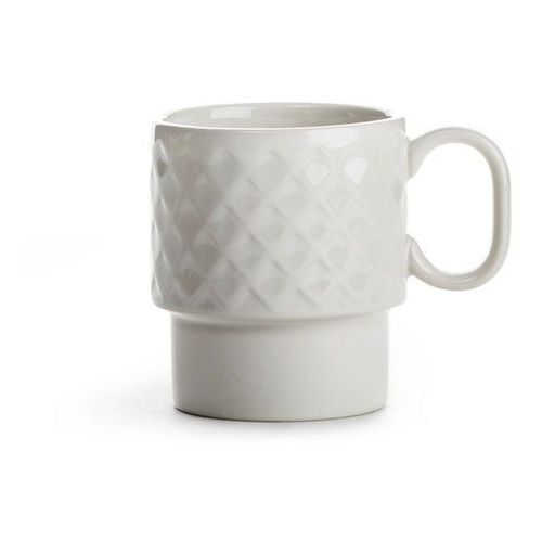 - coffee - filiżanka do kawy 0,25 l, biała - biały marki Sagaform