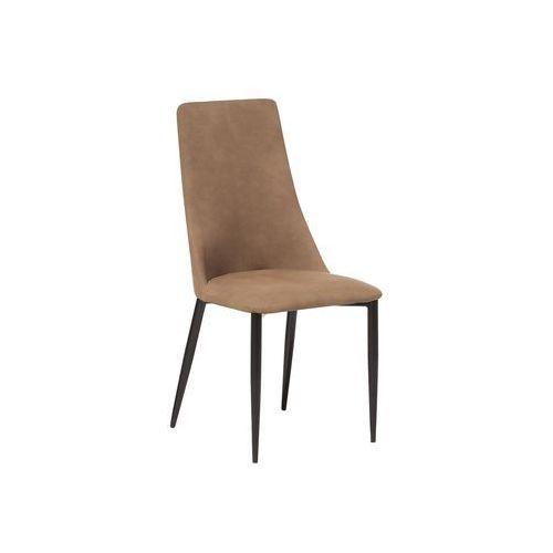 Beliani Krzesło do jadalni beżowe clayton