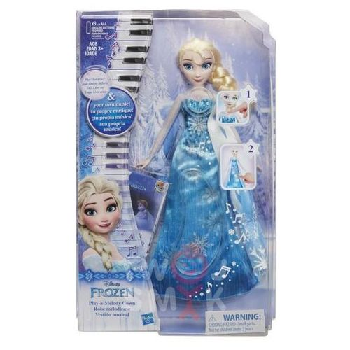 Disney Frozen Elza w muzycznej sukni