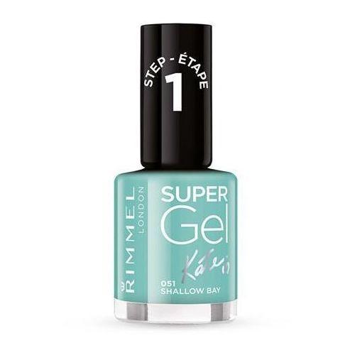 _super gel lakier do paznokci 051 shallow bay 12ml wyprodukowany przez Rimmel