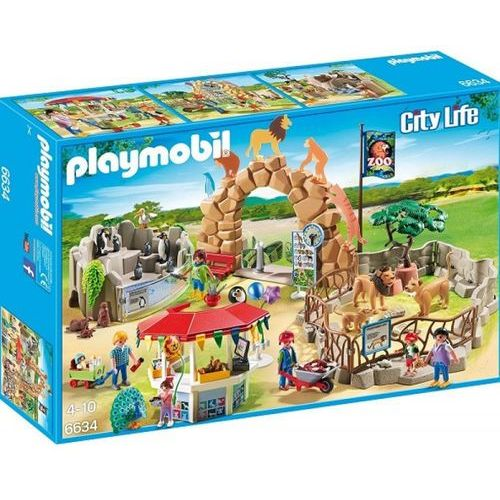 Playmobil CITY ACTION Moje duże zoo 6634