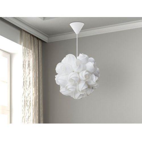 Beliani Lampa biała - sufitowa - żyrandol - lampa wisząca - sordo