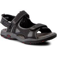 Sandały CANGURO - W004-906 Nero, w 6 rozmiarach