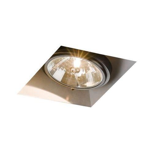 Kaspa - oprawa stropowa wpuszczana pojedyncza - beta - ciemny brąz - ciemny brąz (60244106)
