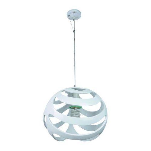 Lampa wisząca Pallas biała 312/A - Lampex - Rabat w koszyku (5902622105819)