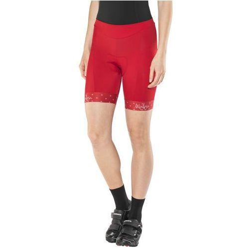 Maloja suvrettam. spodnie rowerowe kobiety czerwony l 2018 spodnie szosowe