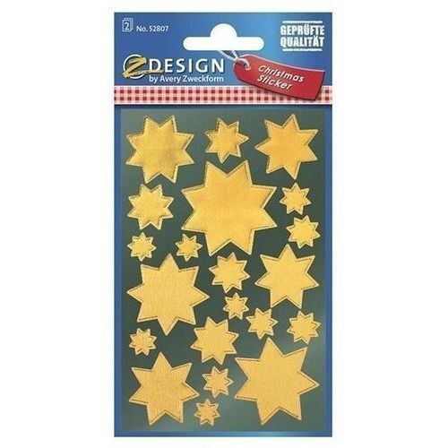 Naklejki - złote gwiazdy (4004182528075)