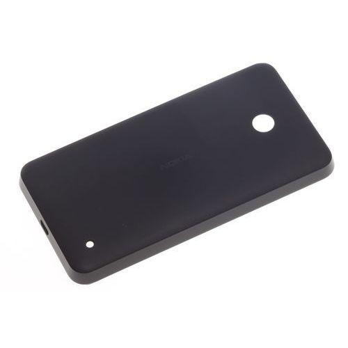Microsoft Oryginalna klapka baterii nokia lumia 630 czarna grade b