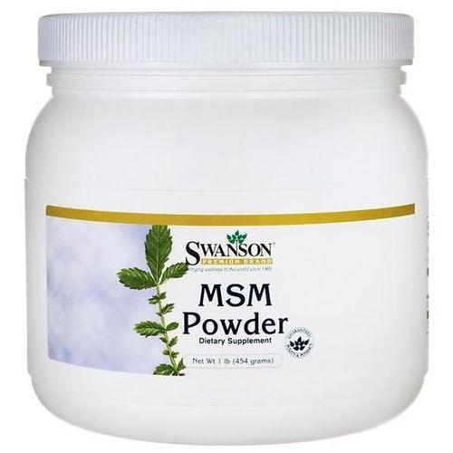 Swanson MSM Metylosulfonylometan 100% Puder 454g (0087614018515)