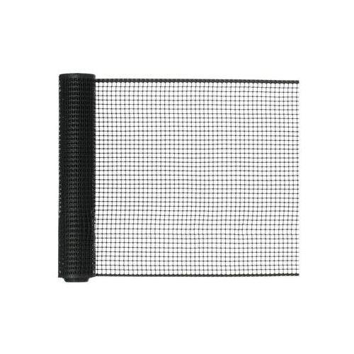 Nortene Siatka plastikowa 0.5 x 5 m antracytowa square