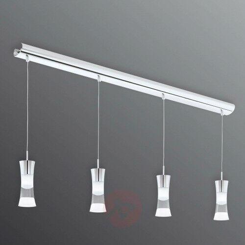 4-punktowa lampa wisząca LED Pancento ze stali, 22689307695