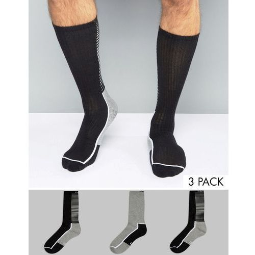 Calvin Klein Performance Socks With Coolpass In 3 Pack - Multi - produkt z kategorii- Pozostałe