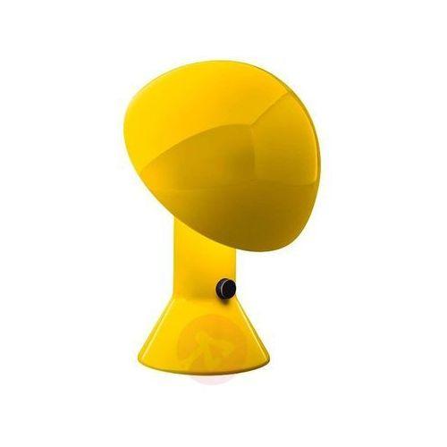 Martinelli luce Designerska lampa stołowa elmetto żółta