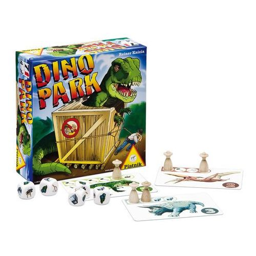 Piatnik , gra, dino park