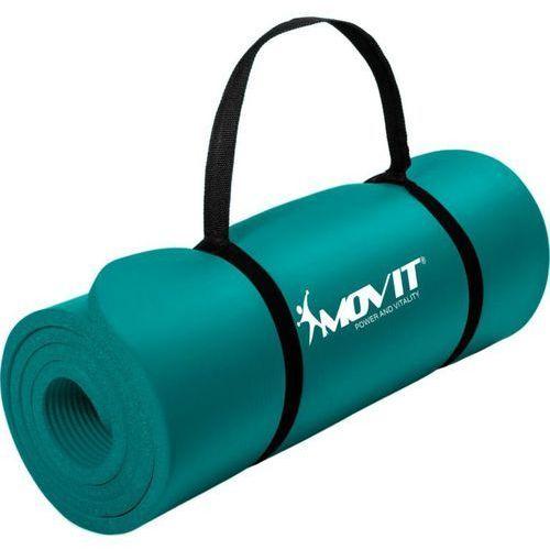 Mata piankowa MOVIT do jogi i gimnastyki 190 x 60 x 1,5 niebieska